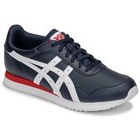 Schuhe Herren Sneaker Low Asics TIGER RUNNER Blau / Weiss / Rot