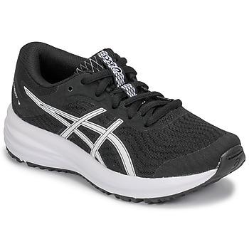 Schuhe Kinder Laufschuhe Asics PATRIOT 12 GS Schwarz / Weiss