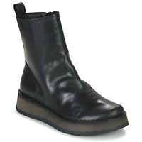 Schuhe Damen Boots Fly London RENO Schwarz