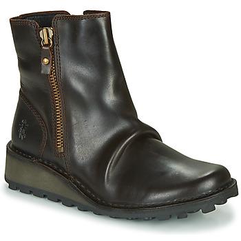Schuhe Damen Boots Fly London MON944FLY Schwarz