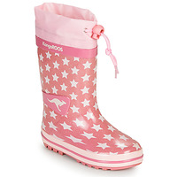 Schuhe Mädchen Gummistiefel Kangaroos K-RAIN Rose