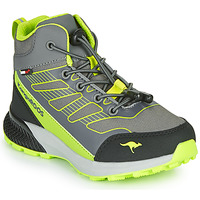 Schuhe Jungen Sneaker High Kangaroos K-SCOUT RTX Grau / Grün