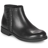 Schuhe Mädchen Boots Geox AGGATA Schwarz