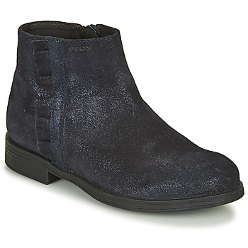 Schuhe Mädchen Boots Geox AGGATA Marine