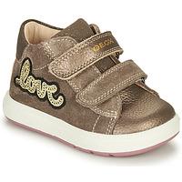 Schuhe Mädchen Boots Geox BIGLIA Braun
