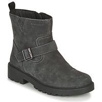 Schuhe Mädchen Boots Geox CASEY WPF Grau