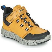 Schuhe Jungen Boots Geox FLEXYPER ABX Honig
