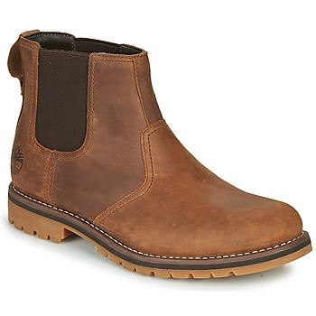 Schuhe Herren Boots Timberland LARCHMONT II CHELSEA Braun