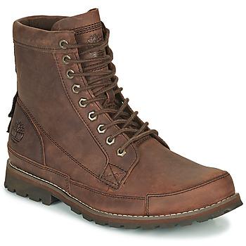 Schuhe Herren Boots Timberland ORIGINALS II LTHR 6IN BT Braun