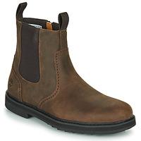 Schuhe Herren Boots Timberland SQUALL CANYON BROG WP CHL Braun
