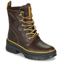 Schuhe Damen Boots Timberland MALYNN MID LACE EK+ WP Braun