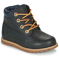 Schuhe Kinder Boots Timberland Pokey Pine 6In Boot with Blau