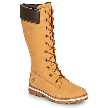 Schuhe Mädchen Klassische Stiefel Timberland COURMA KID GIRLS TALL ZIP Rot multi wf sde