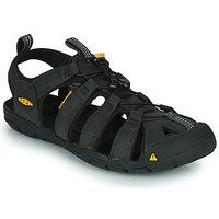 Schuhe Herren Sportliche Sandalen Keen CLEARWATER Grau / Schwarz