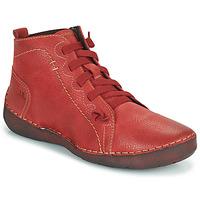 Schuhe Damen Sneaker High Josef Seibel FERGEY 86 Rot