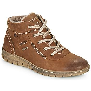 Schuhe Damen Sneaker High Josef Seibel STEFFI 53 Braun
