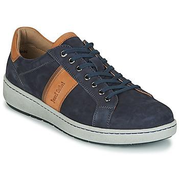 Schuhe Herren Sneaker Low Josef Seibel DAVID 01 Blau