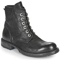 Schuhe Damen Boots Moma MALE Schwarz