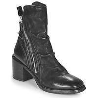 Schuhe Damen Low Boots Moma NANINI Schwarz