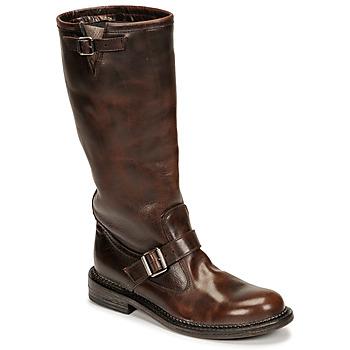 Schuhe Damen Klassische Stiefel Moma BIRERS Braun