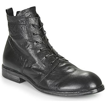 Schuhe Herren Boots Moma PUNTO Schwarz