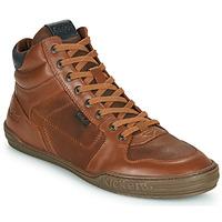 Schuhe Herren Sneaker High Kickers JEXPLOREHIGH Braun
