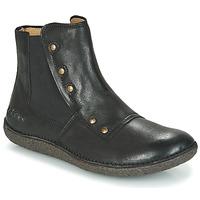 Schuhe Damen Boots Kickers HAPPLI Schwarz
