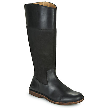 Schuhe Damen Klassische Stiefel Kickers TAKIKO Schwarz