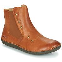 Schuhe Damen Boots Kickers HAPPLI Braun