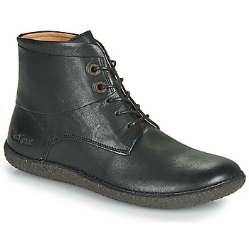 Schuhe Damen Boots Kickers HOBBYTWO Schwarz