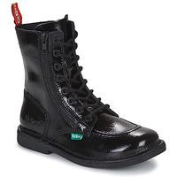 Schuhe Damen Boots Kickers MEETICKZIP Schwarz
