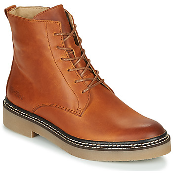 Schuhe Damen Boots Kickers OXIGENO Camel / Orange