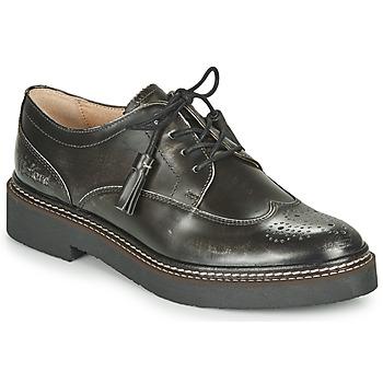 Schuhe Damen Derby-Schuhe Kickers OXANYBY Silbern / Schwarz