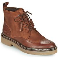 Schuhe Damen Boots Kickers OXANYHIGH Braun