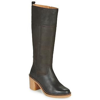 Schuhe Damen Klassische Stiefel Kickers AVERNO Braun