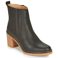 Schuhe Damen Boots Kickers AVERNY Braun