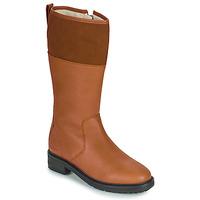 Schuhe Damen Klassische Stiefel Kickers WATHIGH Camel