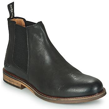 Schuhe Herren Boots Kickers ALPHATRI Schwarz