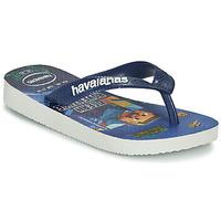 Schuhe Jungen Zehensandalen Havaianas KIDS MINECRAFT Blau