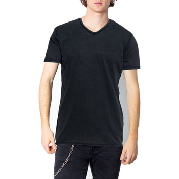 Kleidung Herren T-Shirts Brian Brome 23/102-398 Nero