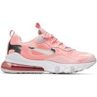 Schuhe Damen Sneaker Low Nike Air Max 270 React GG Rosa