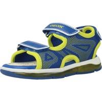 Schuhe Jungen Sportliche Sandalen Geox B SANDAL TODO BOY Gelb