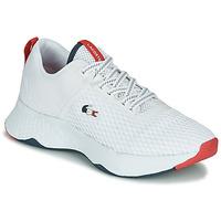 Schuhe Herren Sneaker Low Lacoste COURT-DRIVE 0120 3 SMA Weiss / Rot