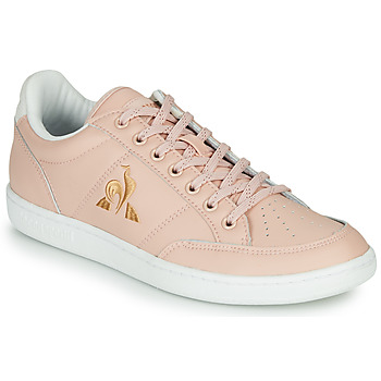 Schuhe Damen Sneaker Low Le Coq Sportif COURT CLAY W Rose