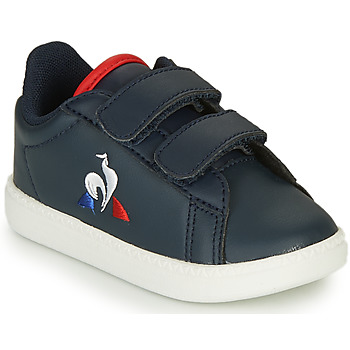 Schuhe Kinder Sneaker Low Le Coq Sportif COURTSET INF Marine
