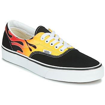 Schuhe Sneaker Low Vans ERA Schwarz / Flamme