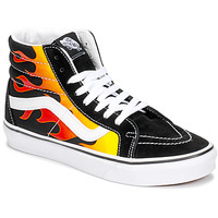 Schuhe Sneaker High Vans Sk8-Hi Reissue Schwarz / Flamme