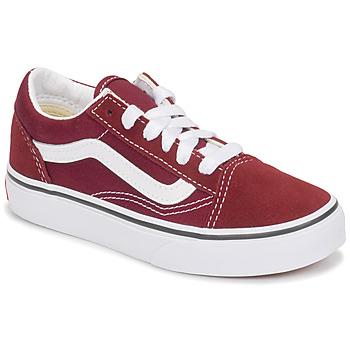 Schuhe Kinder Sneaker Low Vans Uy Old Skool Bordeaux