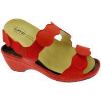 Schuhe Damen Sandalen / Sandaletten Calzaturificio Loren LOE687ro rosso