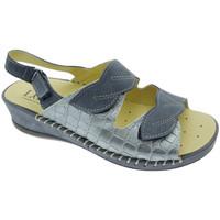 Schuhe Damen Sandalen / Sandaletten Calzaturificio Loren LOM2817bl blu
